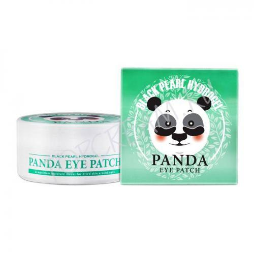 Патчи для век Black Pearl Hydrogel Panda Eye Patch (White Organia)