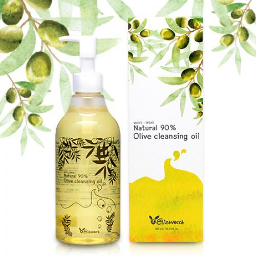 Гидрофильное масло Natural 90% Olive Cleansing Oil (Elizavecca)